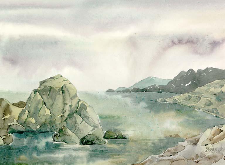 Морские пейзажи крыма в картинках